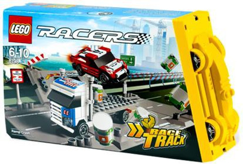 LEGO Racers Fold Out Race Tracks Ramp Crash Set #8198