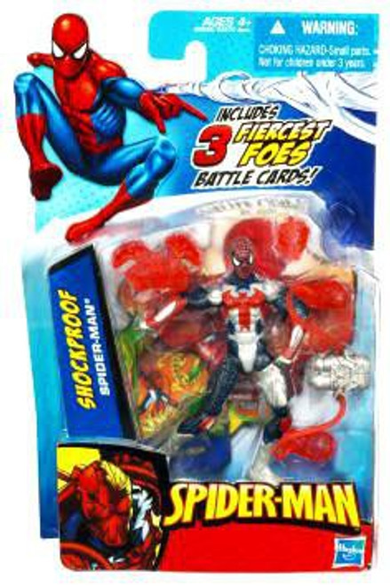 Spider-Man 2010 Shock Proof Spider-Man Action Figure
