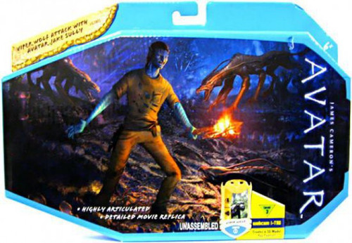 James Cameron's Avatar Viper Wolf Attack Action Figure Set
