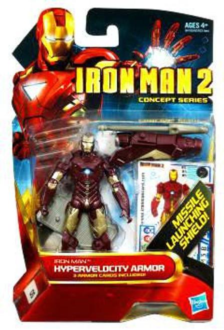 Iron Man 2 Concept Series Hypervelocity Armor Iron Man Action Figure #5
