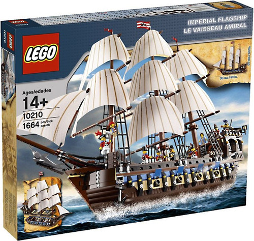 LEGO Imperial Flagship Exclusive Set #10210