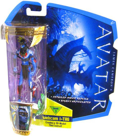 James Cameron's Avatar Tsu'Tey Action Figure [War Paint & Headdress]