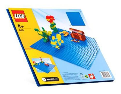 LEGO Blue Building Plates Set #620