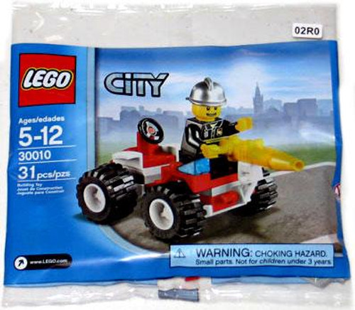LEGO City Fire Chief Mini Set #30010 [Bagged]
