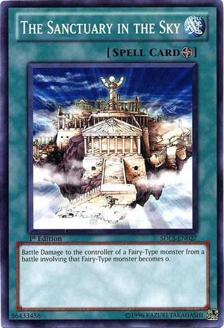 YuGiOh 5D's Structure Deck: Lost Sanctuary Common The Sanctuary in the Sky SDLS-EN027