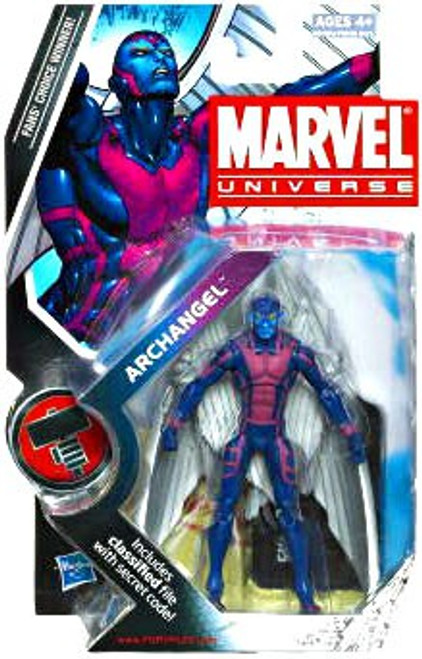 Marvel Universe Series 8 Archangel Action Figure #15 [Blue Face]