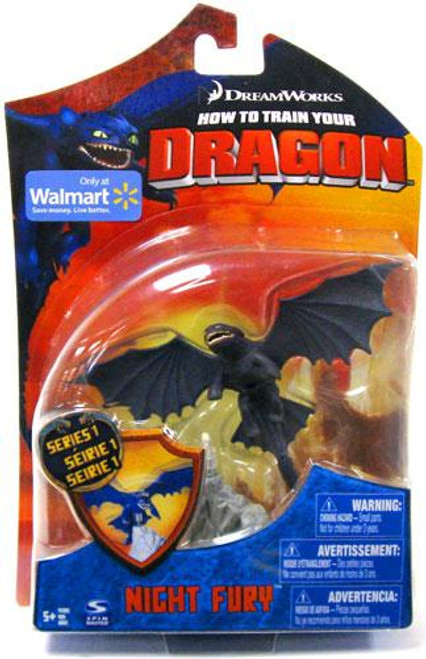 How to Train Your Dragon Series 1 Night Fury Exclusive Action Figure [Toothless]