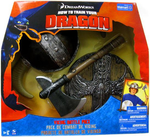 How to Train Your Dragon Viking Battle Pack Exclusive Roleplay Toy