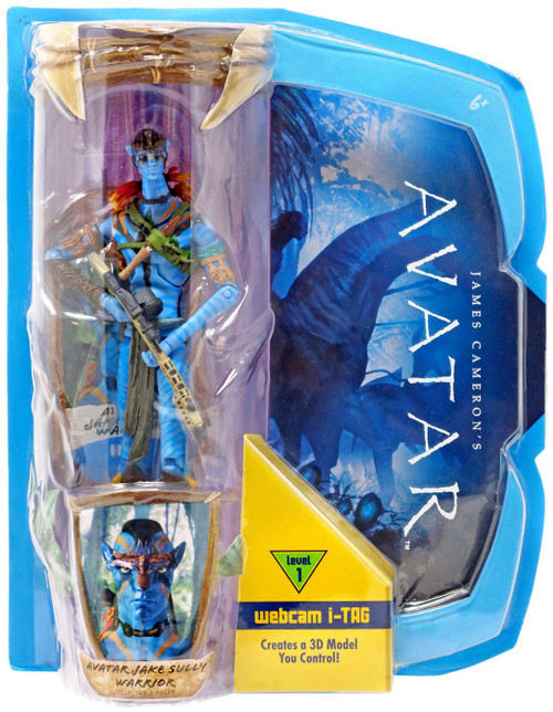 James Cameron's Avatar Deluxe Avatar Jake Sully Action Figure [Warrior]