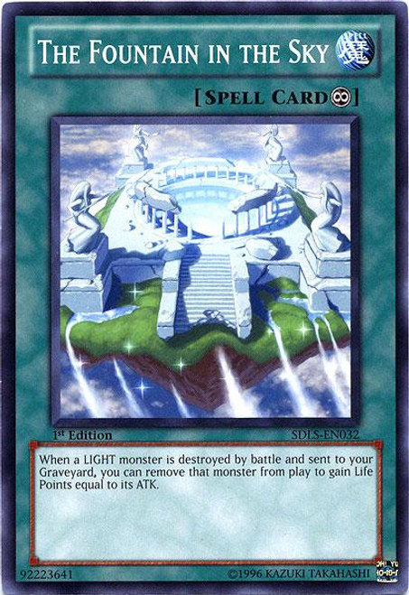 YuGiOh 5D's Structure Deck: Lost Sanctuary Common The Fountain in the Sky SDLS-EN032