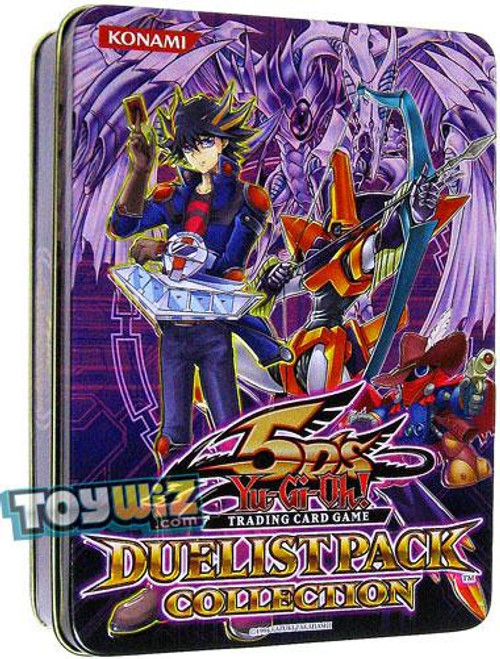 YuGiOh 5D's 2010 Collector Tin Duelist Pack Exclusive Collector Tin [Purple] [Sealed]