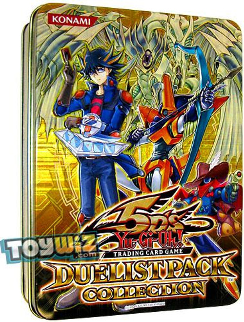 YuGiOh 5D's 2010 Collector Tin Duelist Pack Exclusive Collector Tin [Yellow] [Sealed]
