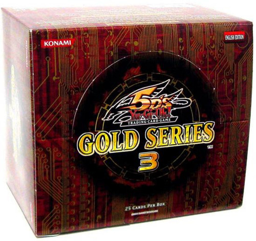 YuGiOh Gold Series 3 2010 Exclusive Booster Box [5 Packs] [Sealed]