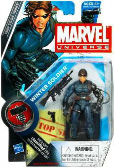 Marvel Universe Series 9 Winter Soldier Action Figure #22