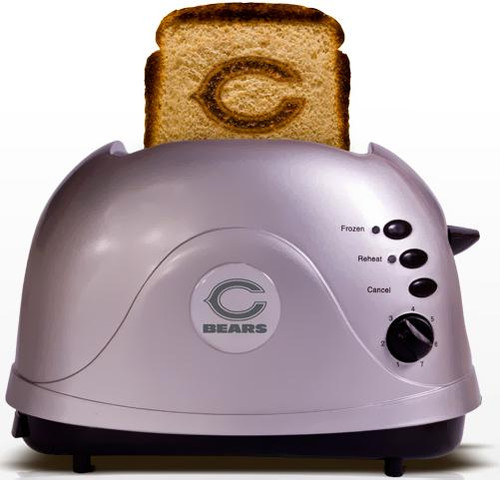 NFL ProToast Retro Chicago Bears Toaster