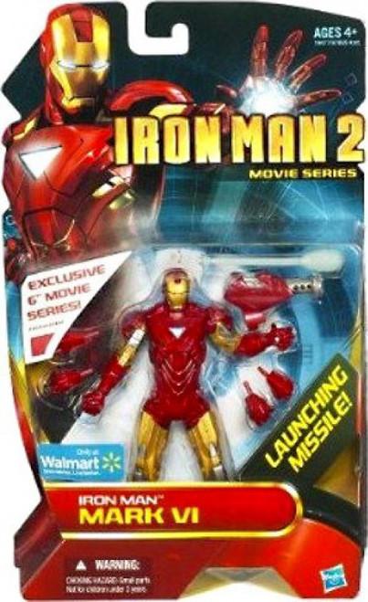 Iron Man 2 Movie Series Iron Man Mark VI Exclusive Action Figure