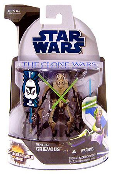 Star Wars The Clone Wars Clone Wars 2008 General Grievous Action Figure #6 [First Day of Issue]