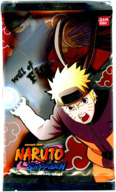 Naruto Shippuden Card Game Will of Fire Booster Pack