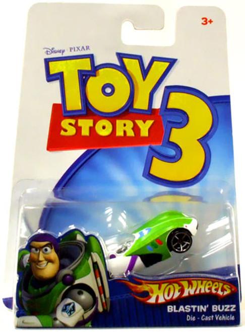 Toy Story 3 Hot Wheels Blastin' Buzz Diecast Vehicle