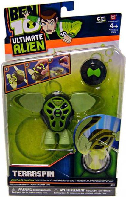 Ben 10 Ultimate Alien Deluxe Alien Collection Terraspin Action Figure