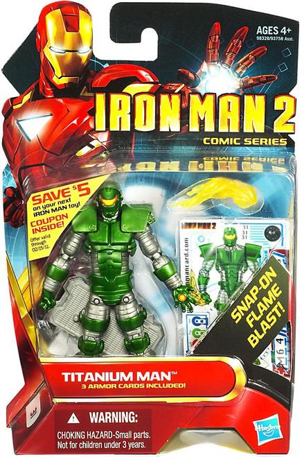 Iron Man 2 Comic Series Titanium Man Action Figure #31