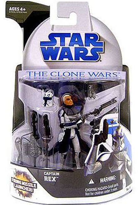 Star Wars The Clone Wars Clone Wars 2008 Captain Rex Action Figure #4