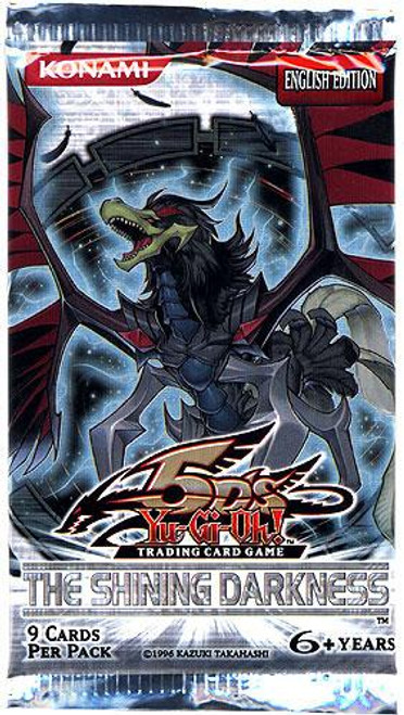 YuGiOh The Shining Darkness Booster Pack [Sealed]