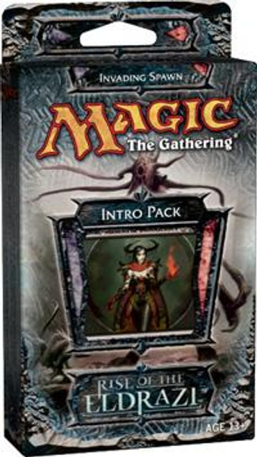 MtG Rise of the Eldrazi Invading Spawn Intro Pack [Sealed Deck]