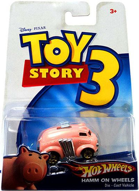 Toy Story 3 Hot Wheels Hamm On Wheels Diecast Vehicle