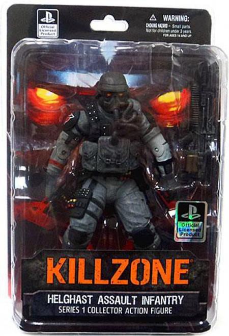 Killzone Series 1 Helghast Assault Infantry Action Figure