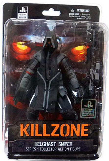 Killzone Series 1 Helghast Sniper Action Figure