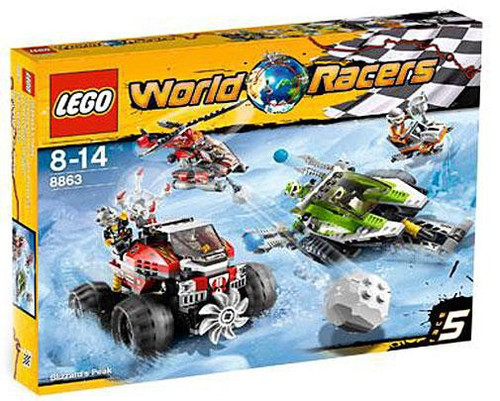 LEGO World Racers Blizzard's Peak Set #8863
