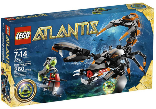 LEGO Atlantis Deep Sea Striker Set #8076