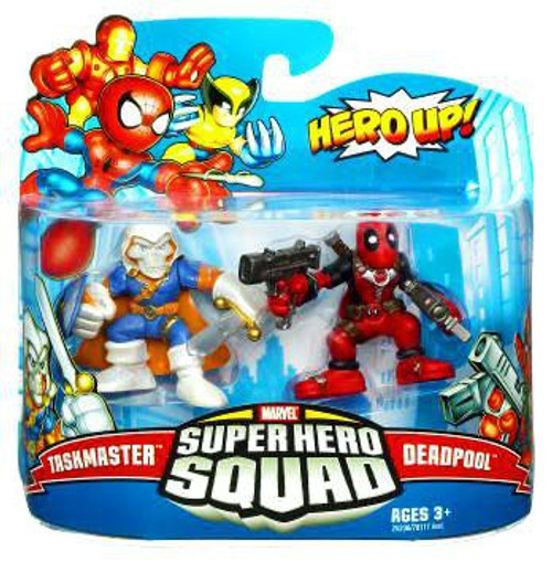 Marvel Super Hero Squad Series 19 Taskmaster & Deadpool Action Figure 2-Pack