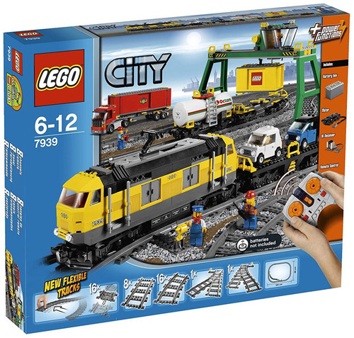 LEGO City Cargo Train Exclusive Set #7939