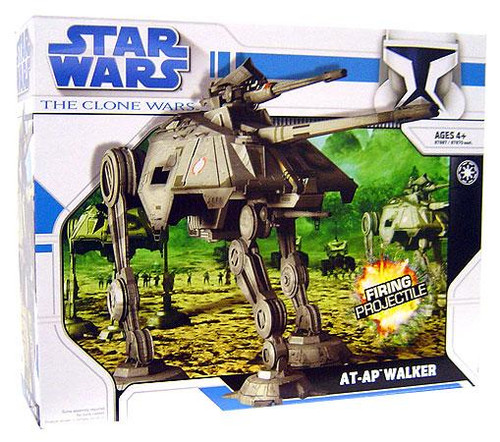 Star Wars The Clone Wars Vehicles 2008 AT-AP Walker Action Figure Vehicle