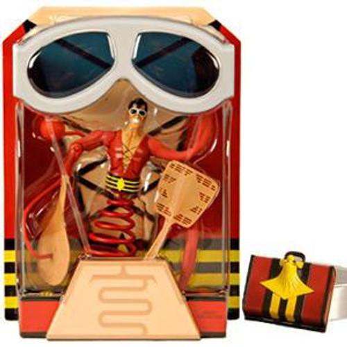 DC Plastic Man Exclusive Action Figure [Includes Suitcase]