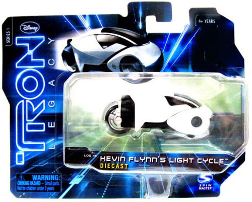 Tron Legacy Series 1 Kevin Flynns Light Cycle Diecast Vehicle