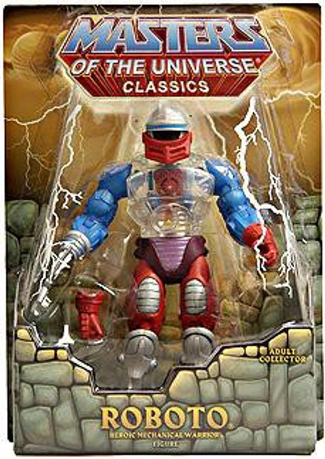 Masters of the Universe Classics Club Eternia Roboto Exclusive Action Figure