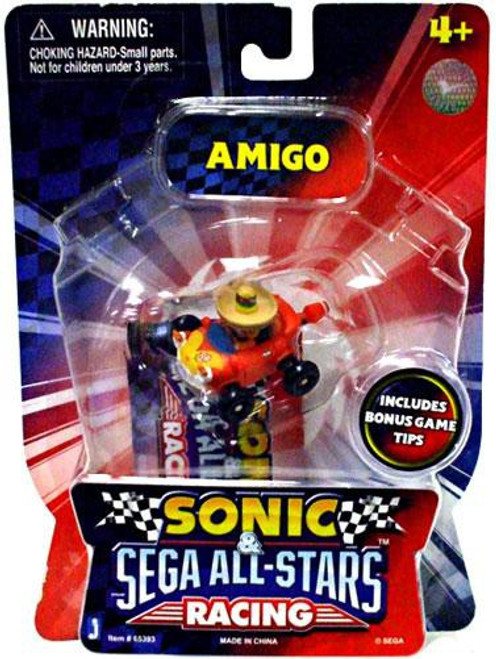 Sonic The Hedgehog Sega All-Stars Racing Amigo Exclusive 1 1/2-Inch Figure Vehicle