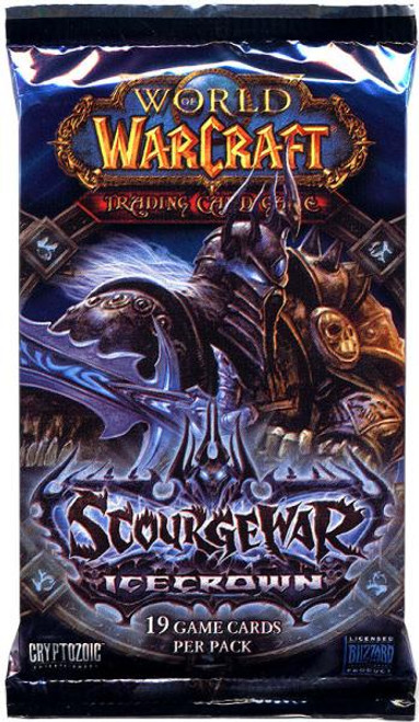 World of Warcraft Trading Card Game Scourgewar: Icecrown Booster Pack