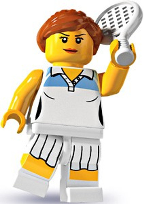 LEGO Minifigures Series 3 Female Tennis Player Minifigure [Loose]