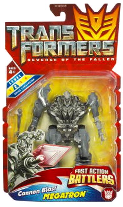 Transformers Revenge of the Fallen Fast Action Battlers Cannon Blast Megatron Action Figure