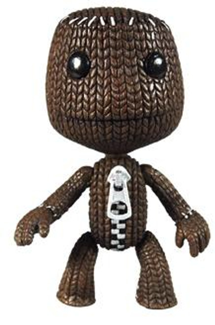 Little Big Planet Series 1 Sackboy Action Figure [Closed Mouth]