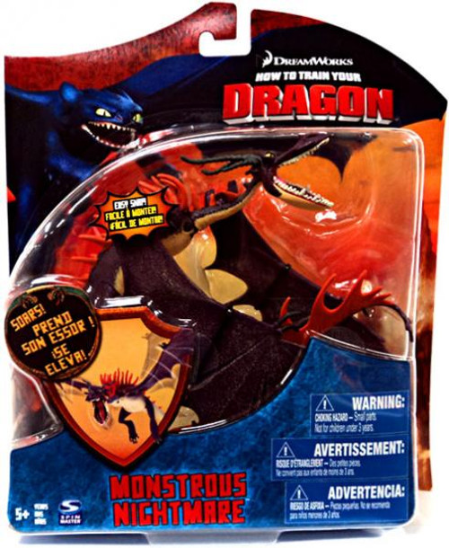 How to Train Your Dragon Series 3 Deluxe Monstrous Nightmare Action Figure [Purple] [New]