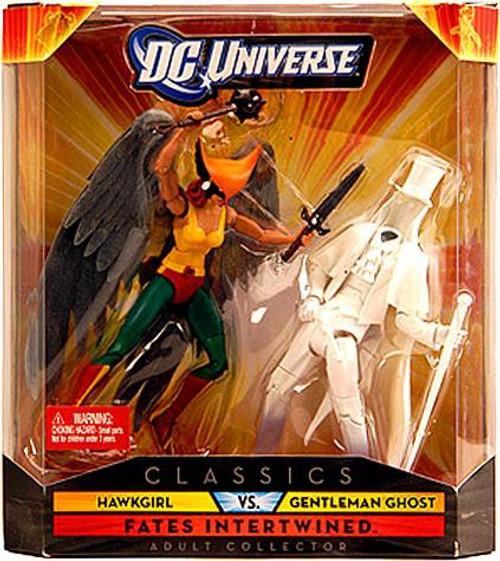 DC Universe Classics Hawkgirl Vs Gentleman Ghost Exclusive Action Figures