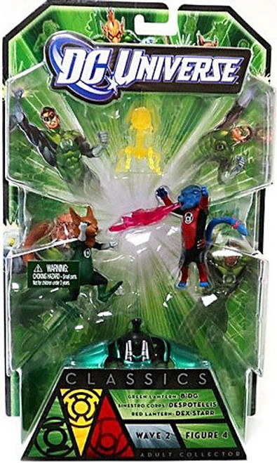 DC Universe Green Lantern Classics Series 2 B'dg, Dex-Starr & Despotellis Action Figures