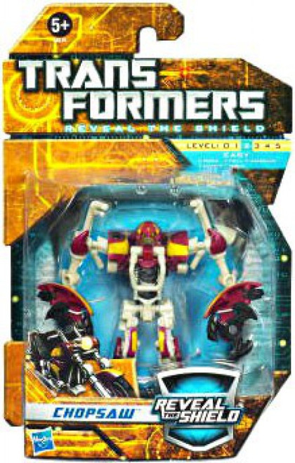 Transformers Reveal the Shield Hunt for the Decepticons Chopsaw Scout Action Figure