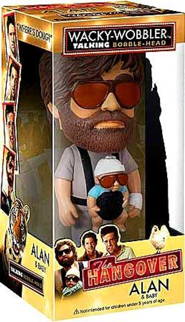 Funko The Hangover Wacky Wobbler Alan & Baby Talking Bobble Head