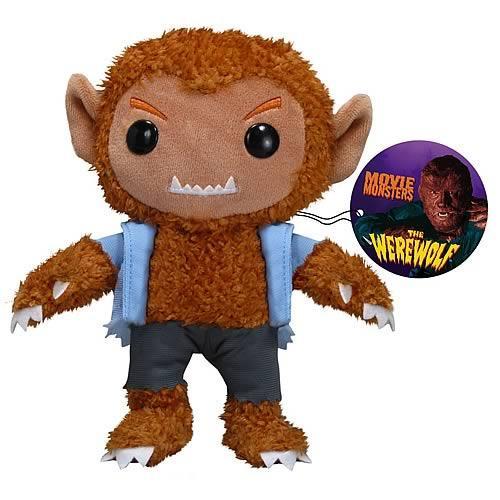 Universal Monsters Funko 7 Inch Plushies The Werewolf Plush